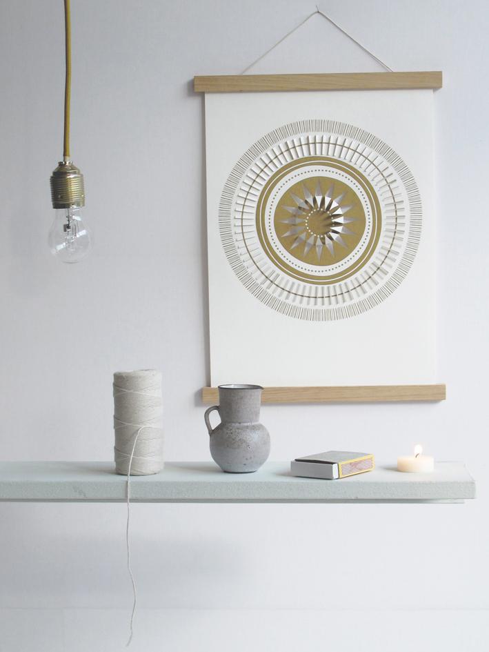 selinesteba.com - sun-wall-portrait
