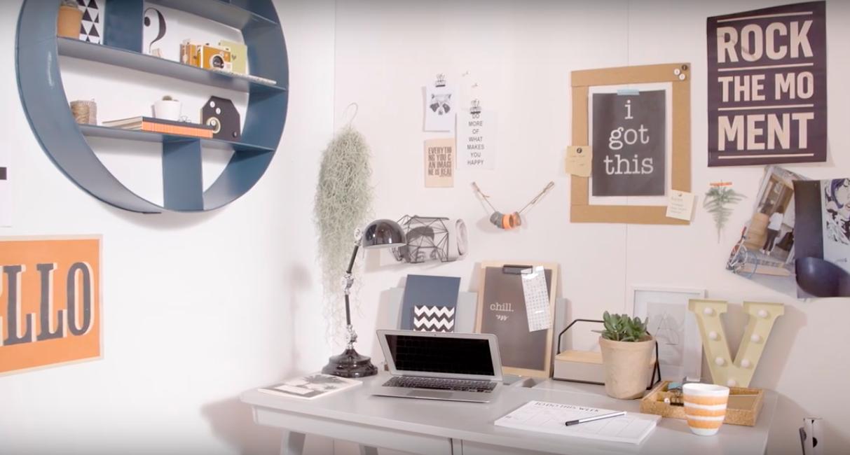 VIDEO vtwonen | tips voor de ideale thuiswerkplek